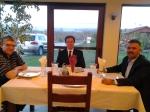 Cu dr. Paul Negruț și fratele Silviu Cuc, gazda noastră